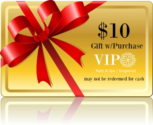 10 VIP GIFT WITH PURCHASE